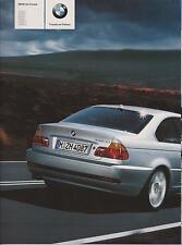 Original BMW Prospekt BMW 3er Coupe 3er-Reihe E46 Stand: 2004 94 Seiten