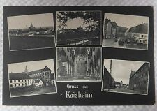 AK  Kaisheim Mehrbildkarte gel. 1918