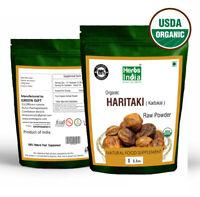 Organic Haritaki Fruit Powder 1 lb(16 Oz).USDA Organic,Premium Powder,USA Seller