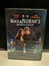 Nick and Norah's Infinite Playlist (DVD) New Sealed