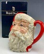 Retired Large Signed Royal Doulton Santa Claus D6704 Character Toby Mug Box Bss