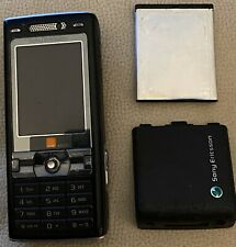 Sony Ericsson Cyber-shot K800i - Black (Orange) Mobile Phone