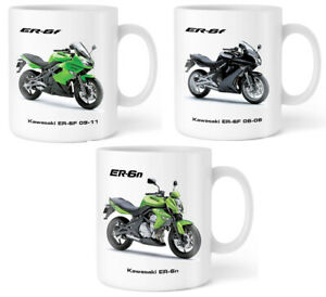 Motorbike Mug with Kawasaki Motorcycle Gift