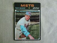 Tom Seaver 1971 Topps # 160 (BV $25) New York Mets
