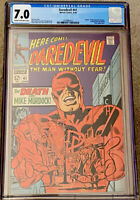 DAREDEVIL #41 CGC 7.0 C/OW PAGES DEATH OF MIKE MURDOCK  (1968) MARVEL
