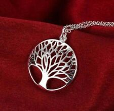 be0cd31d7b42b Chain Sterling Silver Tree of Life Precious Metal Necklaces ...
