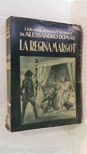 LA REGINA MARGOT Alessandro Dumas Lucchi 1961 C Siniscalchi romanzo libro storia