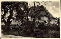 BUCKOW Märkische Schweiz Brandenburg 1933 Dt. Reich AK Jugendherberge Gebäude