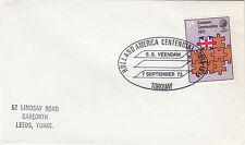 (34145) GB CLEARANCE Cover Holland America SS Veendam Torquay 7 September 1973