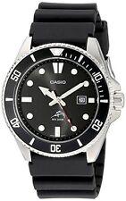 Men MDV1061AV Duro Analog Watch Water Resistant Mineral Glass Date Display Black