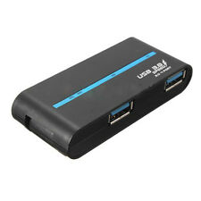 High Speed 4 Ports USB 3.0/2.0 External Hub Adapter for PC Laptop J8F5