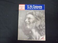 1941 AUGUST U.S. CAMERA MAGAZINE - NICE PHOTOS, ARTICLES & ADS - ST 1911
