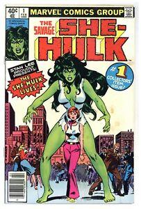 Savage She-Hulk #1 origin + 1st app She-Hulk! Jennifer Walters! 1980 Marvel C475