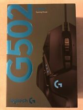 Logitech G502 Hero 16k RGB LED Tunable USB Optical Wired Gaming Mouse Black
