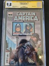 Captain America #13 Signed By Jason Masters CGC 9.8 New CGC Holder