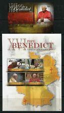 San vicente canouan 2011 papa benedicto en Alemania Pope Benedict mnh