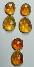 Natural citrine set pendant  18.05ct  Brazil,to be made earring rose cut, 535
