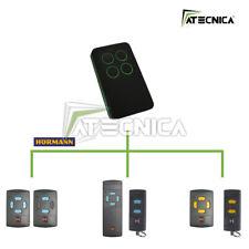 Telecomando compatibile HORMANN HSM HSE 433 868 mhz universale ATECNICA DARK