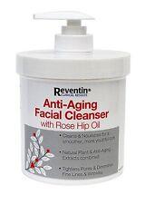 Reventin Anti-aging Facial Cleanser with Rose Hip Oil 16 oz Pump Bottle Jar