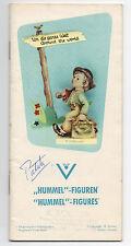 1960 Trade Catalog 00006000  / Booklet & Price List for Hummel Figurines