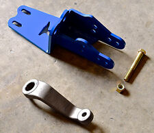 IRONMAN4X4FAB EXTREME DUTY JEEP XJ TRACK BAR BRACKET AND DROP PITMAN ARM
