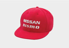 Nissan Nismo RED STRAIGHT LOGO EMBROIDERED HAT  Cotton,Cap, Universal Genuine