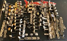 Lot of Vintage Acoustic Classical Guitar Tuners Tuning Pegs for Parts or Repair