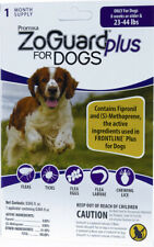 (3PK) ZoGuard Plus Flea & Tick Treatment for Dogs 23-44 lbs 3 PK 3 months supply