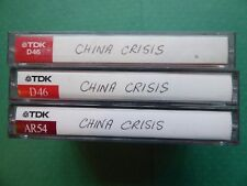 China Crisis Audio Cassette Tapes