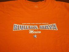 Riviera Maya Mexico Explore the Mayan World  T-Shirt Size  2XL XXL   F3