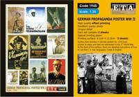 GERMAN PROPAGANDA POSTERS WW II Suit scales 1/35