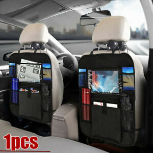 Car Accessories Car Seat Back Multi-Pocket Leather Storage Bag Organizer Holder