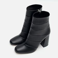 Zara High Heel (3-4.5 in.) Zip Block Boots for Women