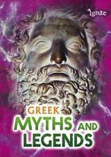 Greek Myths and Legends by Jilly Hunt (2013, Paperback)