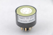1pc Gold plated E80CC TO 6SN7 6N8P CV1988 VT231 B65  Tube converter adapter
