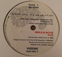 """Prince : Girls & Boys : Vintage 7"""" Single from 1986."""