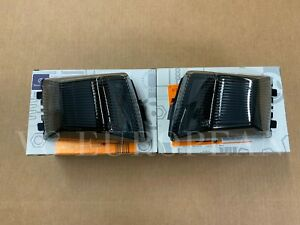 Mercedes Benz Genuine G-Class Black Edition Front Turn Signal Set Smoked 2019+