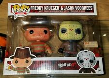 Funko Pop Bloody Freddy Krueger & Jason Voorhees 2-Pack Box Lunch Exclusive