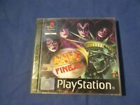 PlayStation PS1 PSX Kiss Pinball boxed  W/ manual PAL game Brand new sealed