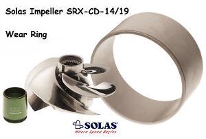 Solas Sea Doo 4-Tec Impeller & Wear Ring SRX-CD-14/19 RXTX 255 RXT RXP Wake 215