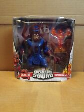 MARVEL SUPER HERO SQUAD GALACTUS & HUMAN TORCH FIGURES NEW ON CARD