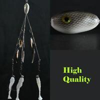 Alabama/Umbrella  Rig  (Bladed Bait Ball) 3 Wire 6 Blades! High Quality