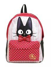 Studio Ghibli Kiki's Delivery Service Jiji Polka Dots Backpack School Book Bag