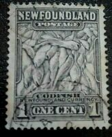 Newfoundland:1932 -1944 Newfoundland Issue 1C Rare & Collectible Stamp.