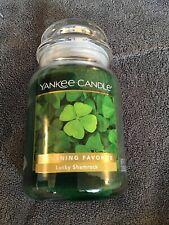 "Yankee Candle, 22 oz. ""Lucky Shamrock"""