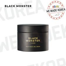 BLACK MONSTER Night Moisture Cream 100ml Men's Cosmetics Authentic K-Beauty
