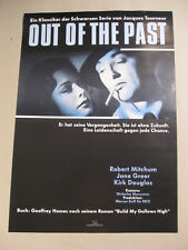 OUT OF THE PAST - Poster Plakat WA gerollt - ROBERT MITCHUM - Film Noir