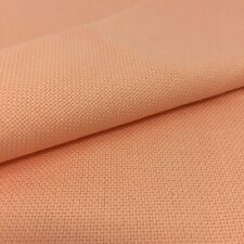 Tela para Punto de Cruz | 75cm x 50cm | 14 cuentas | 100% algodón | color Salmón