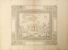 LO SPOSALIZIO D'ERCOLE - THE MARRIAGE OF HERCULES -Incisione Originale 1800