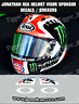 Visor Stickers / Decals for Jonathan Rea Arai Helmet NEW!!